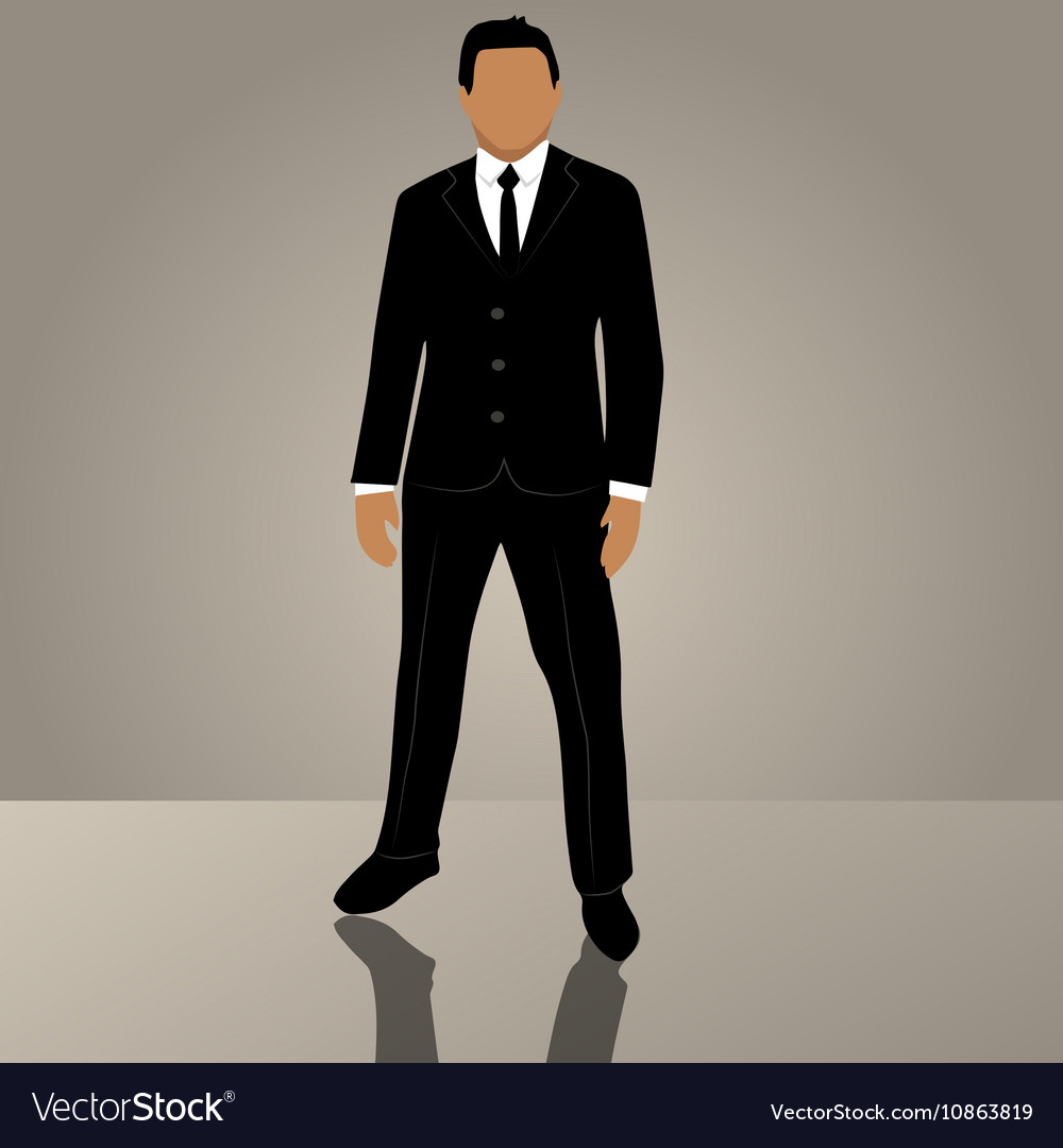Businessman or manager in suit