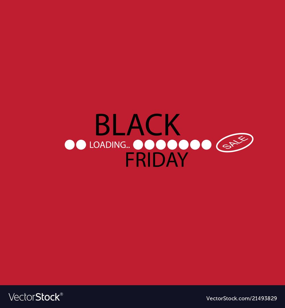 Black friday progress loading bar