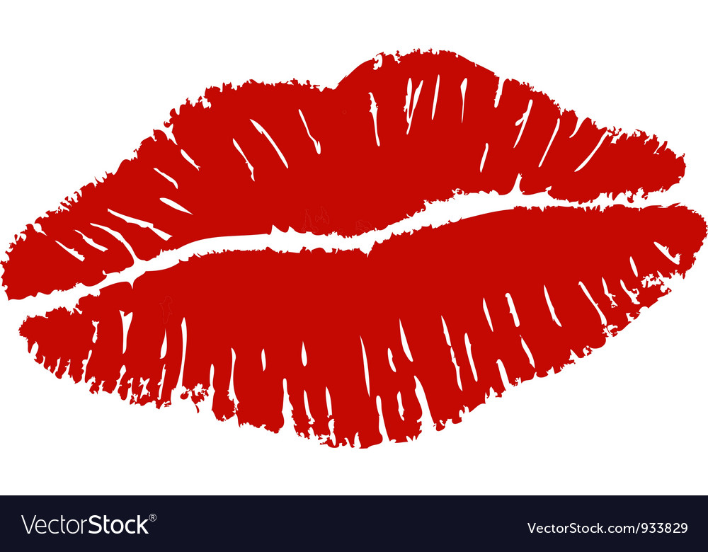 Lipstick Kiss Royalty Free Vector Image Vectorstock The deliciously naughty lipstick kiss fan ретвитнул(а). vectorstock