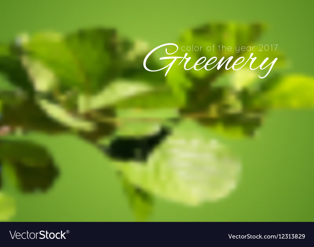 Trend color of the year 2017 Greenery background