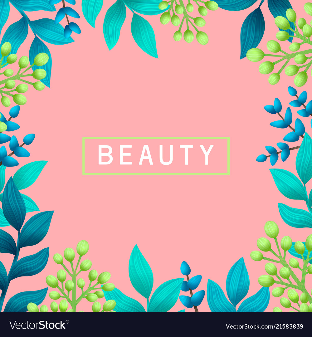 Beauty concept herbal pre-made composition