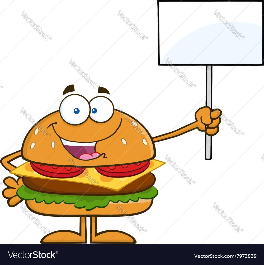 Protesting Hamburger Cartoon