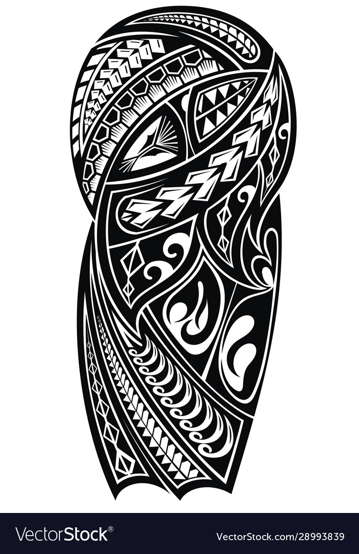 Tribal Tattoo Royalty Free Vector Image Vectorstock The best selection of royalty free tattoo vector art, graphics and stock illustrations. vectorstock