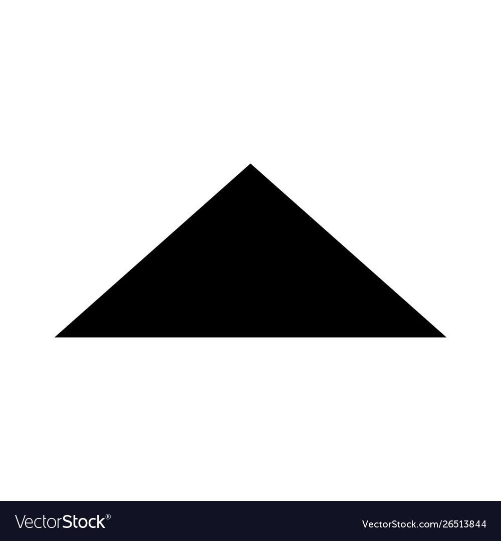 Arrow glyph black icon