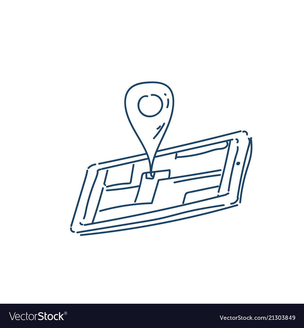 Smartphone mobile map navigation applications