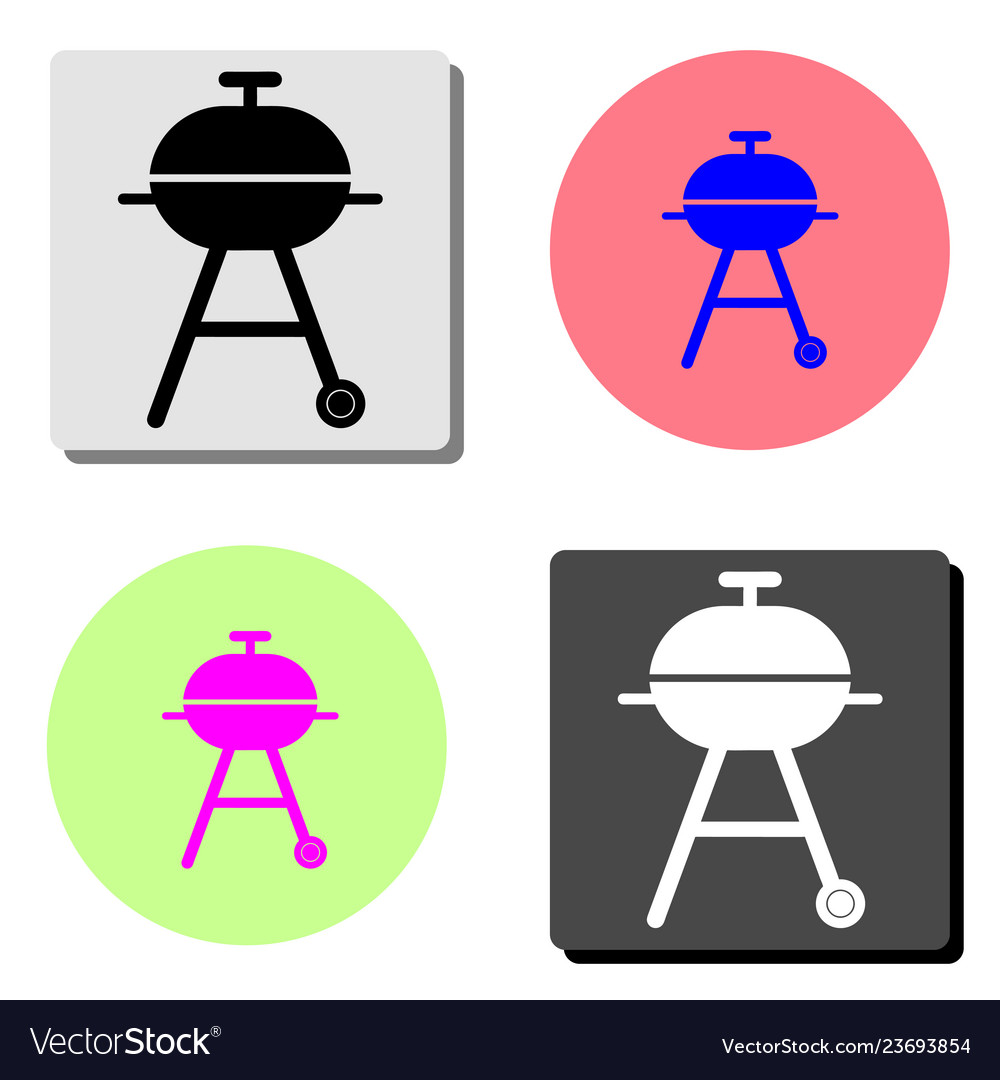 Barbeque flat icon