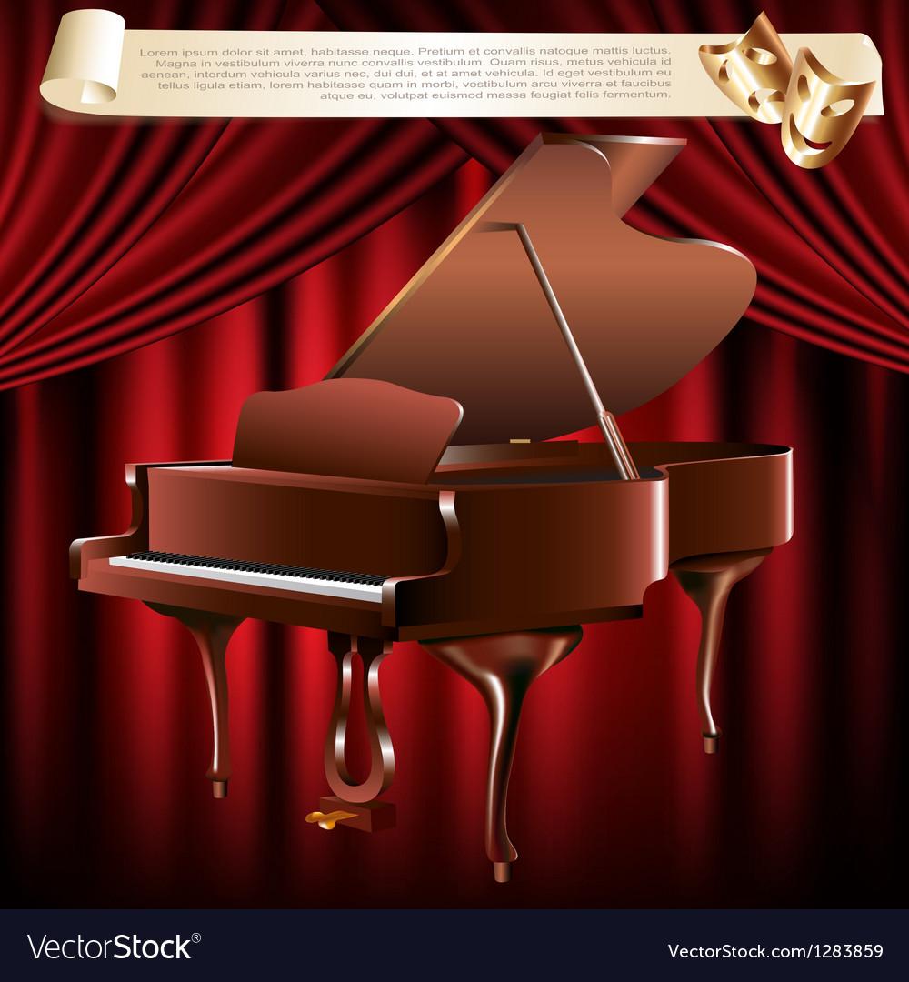 Classical grand piano