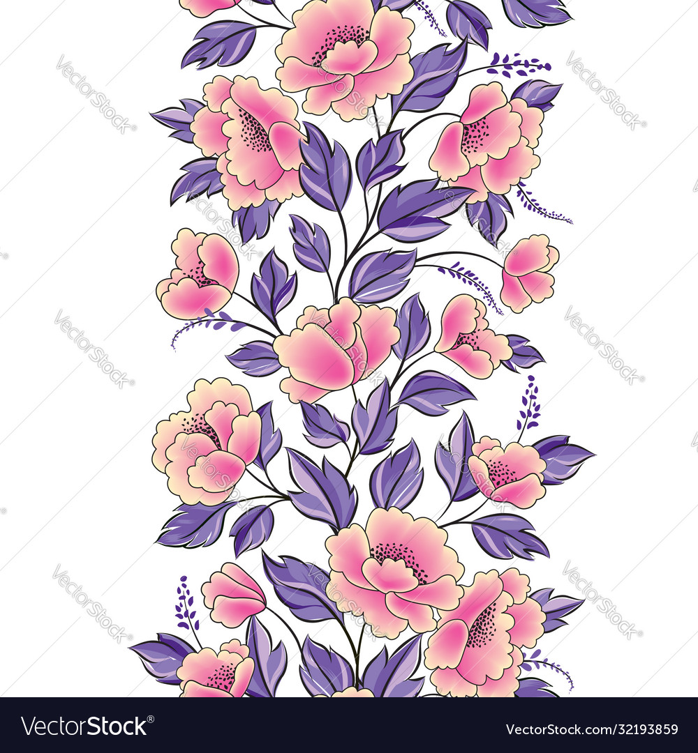 Floral background flower rose bouquet seamless