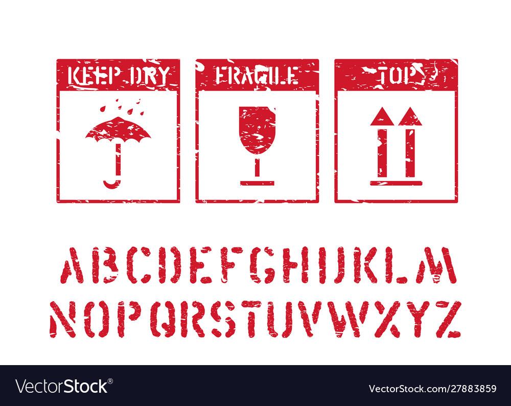 Glass umbrella arrow standard icons isolated