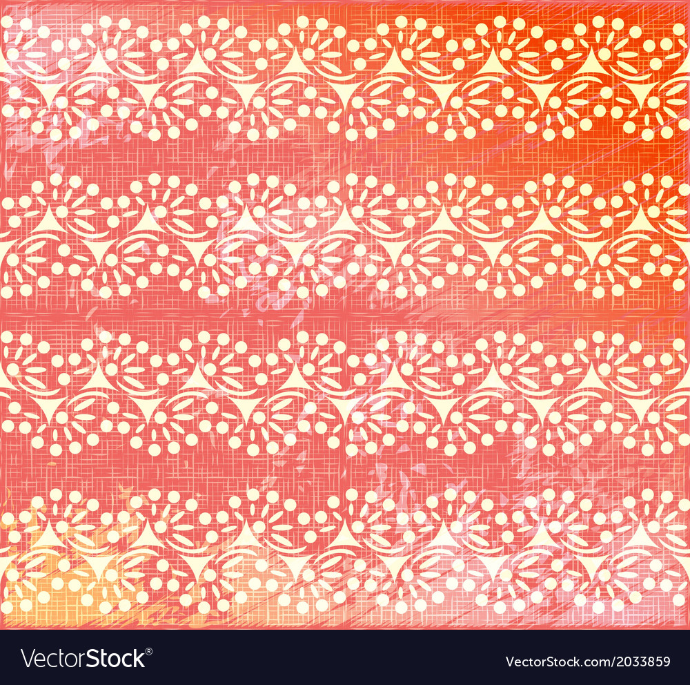 Pattern wallpaper background vector image