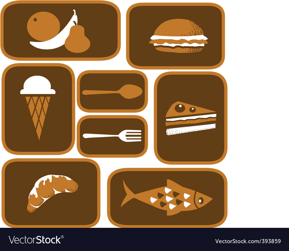 Restaurant and cafe vector image