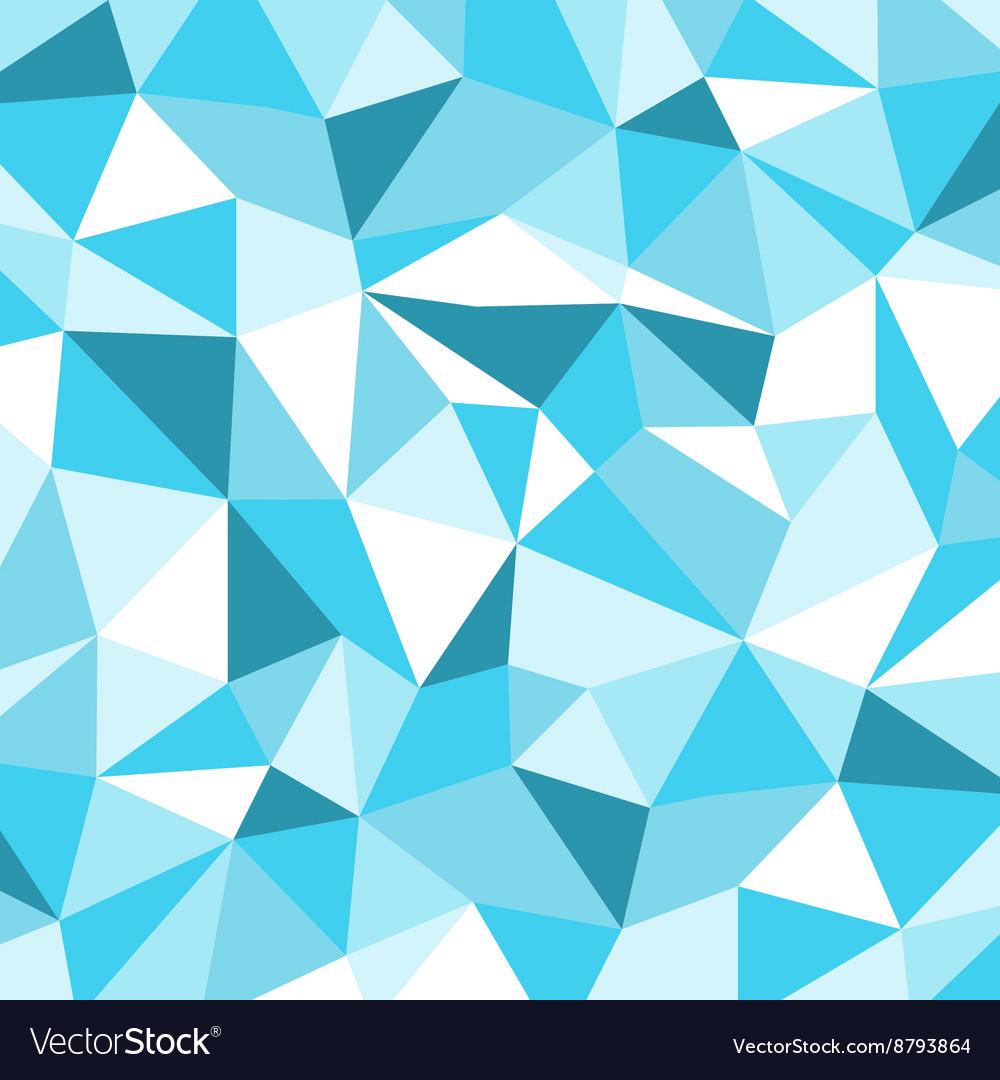 Blue Ice Mosaic Background Creative Business Desi