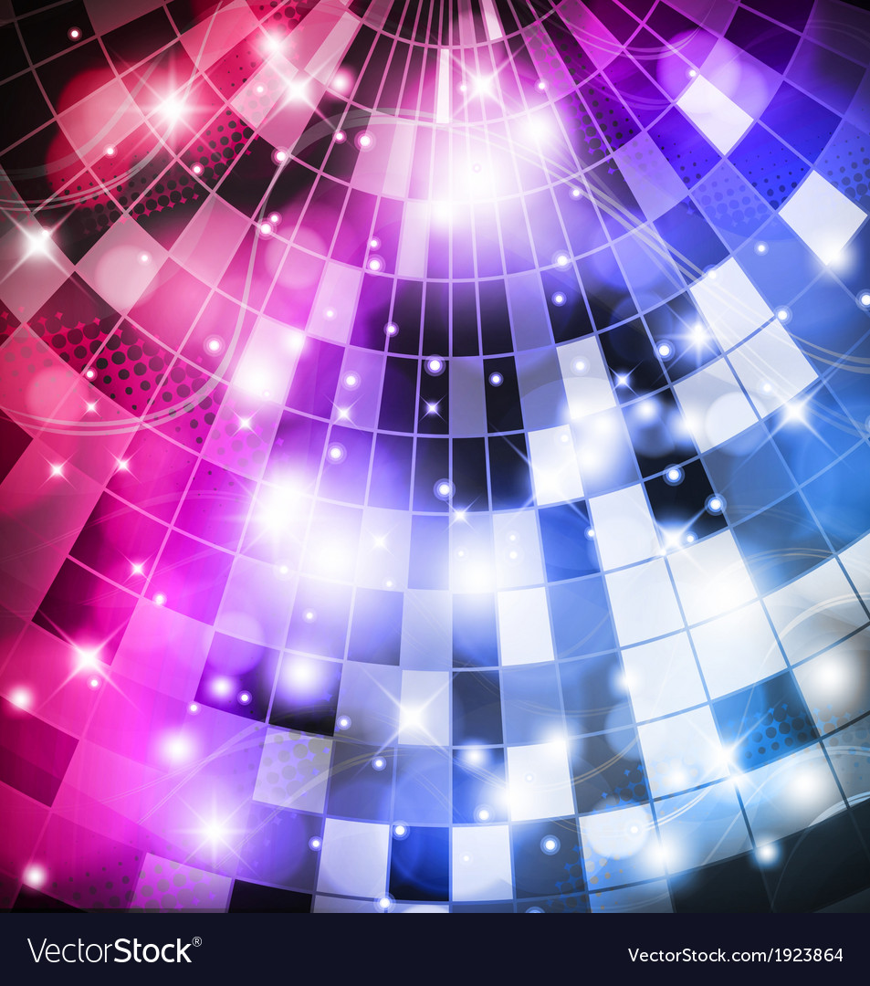 Discoball vector image