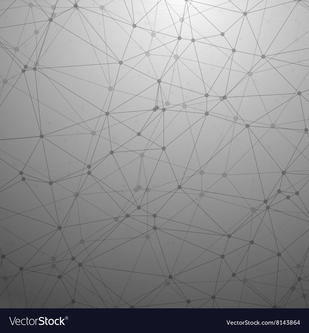 Futuristic Wireframe Background Polygonal