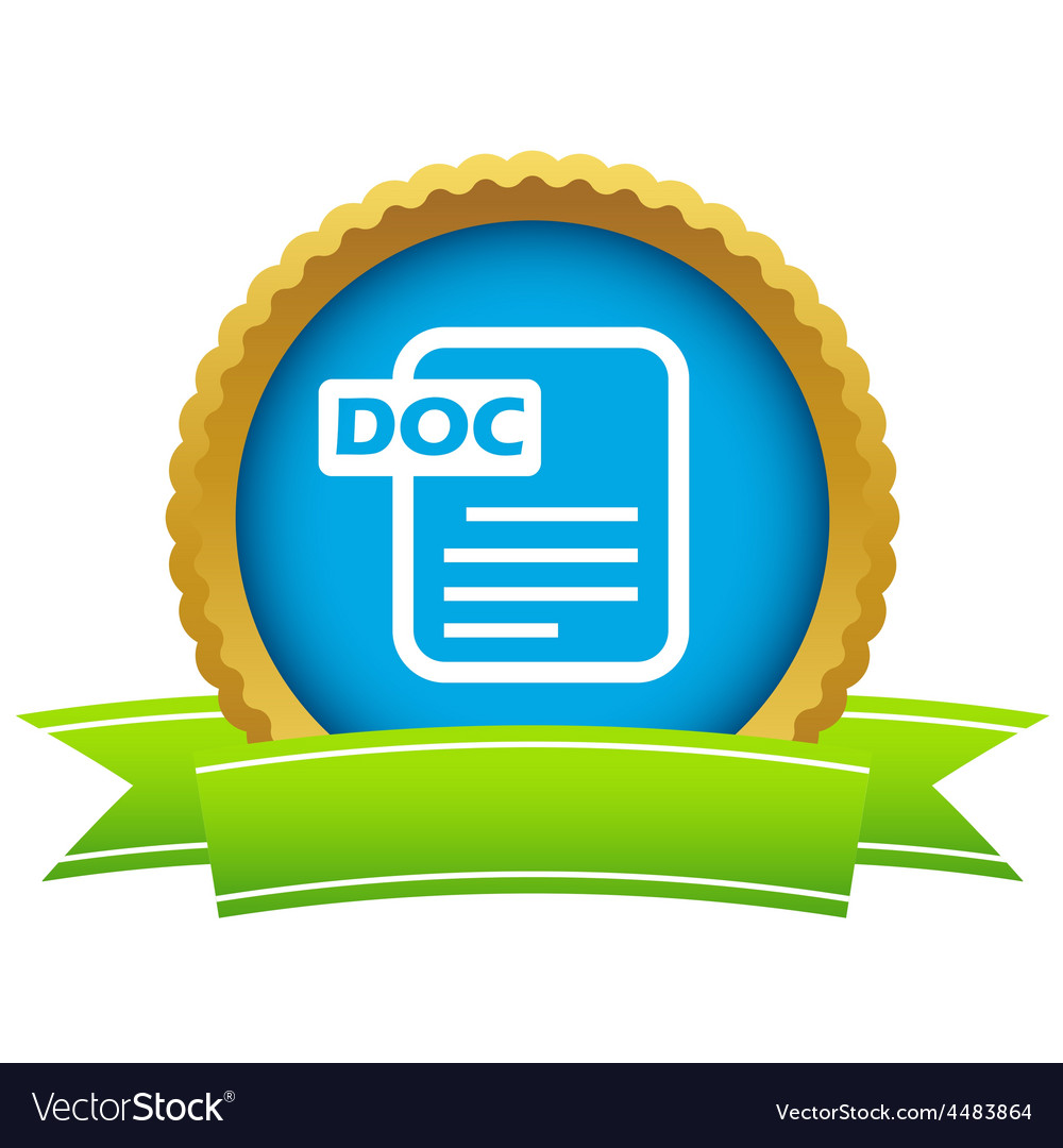 Gold doc logo