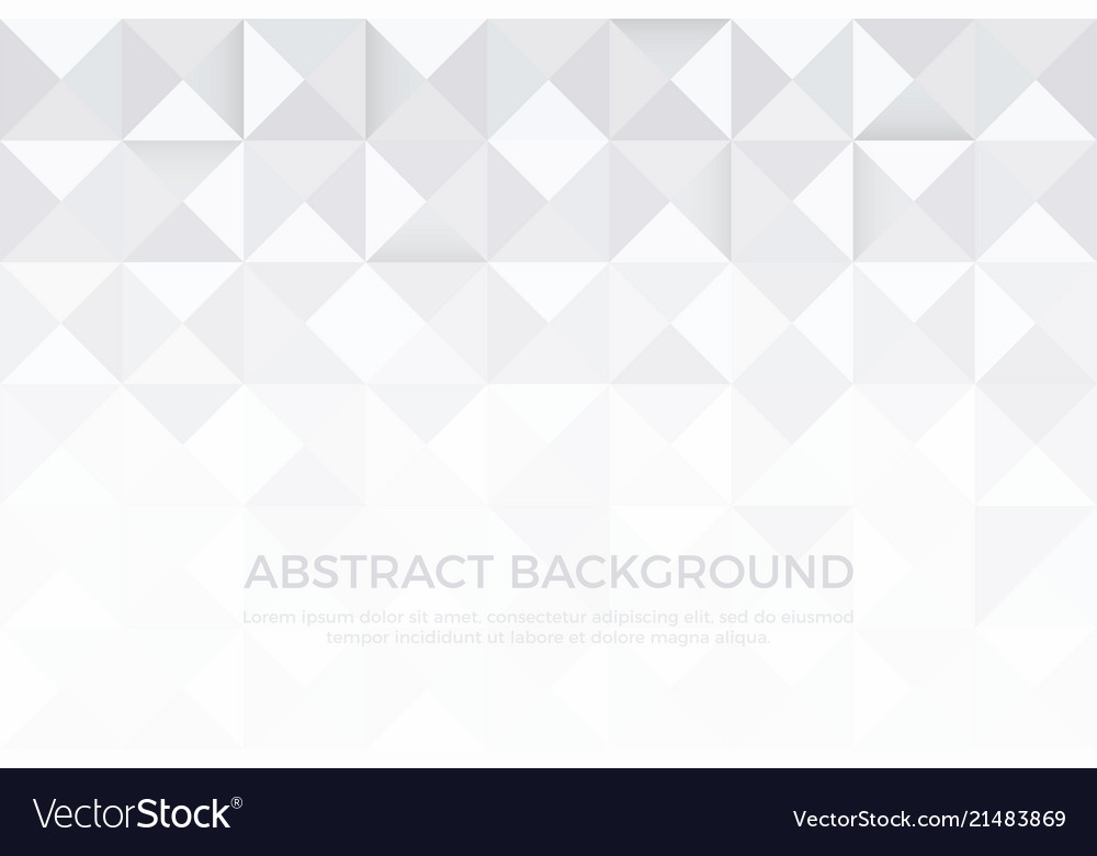 Gray color and white color background abstract art