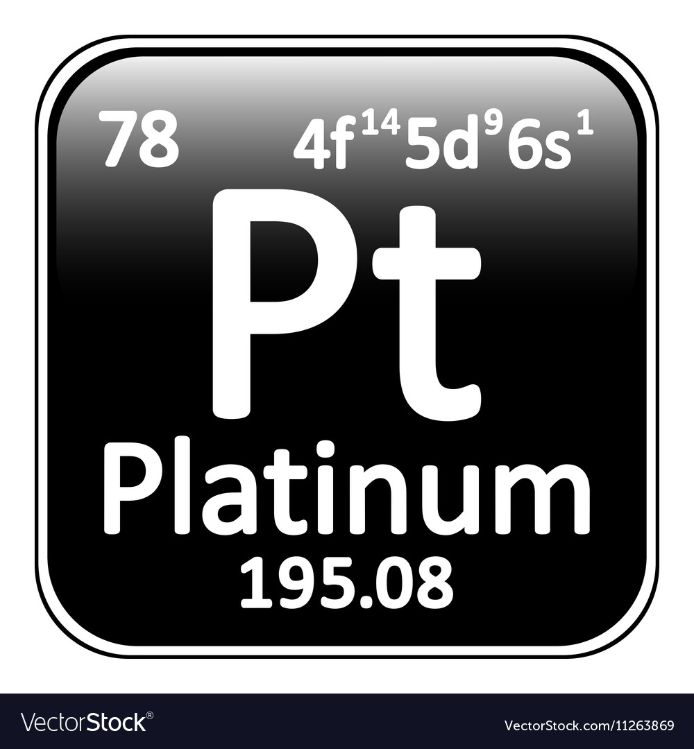stock platinum sign pt rendering depositphotos chemical element photo