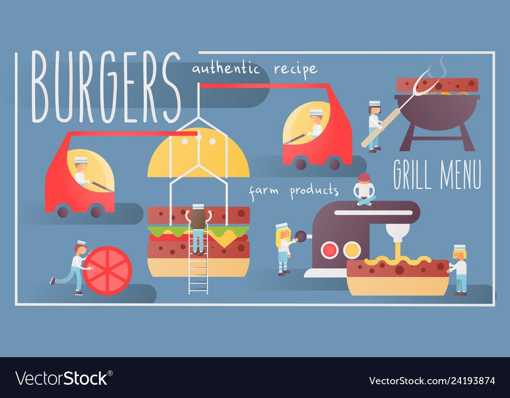 Burgers banner