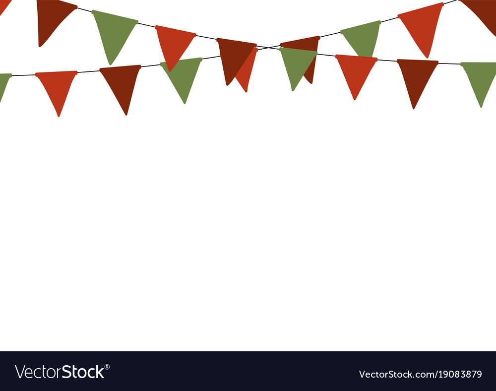 Northern Ireland Triangular Bunting 27 flags 10 metre Long Bunting