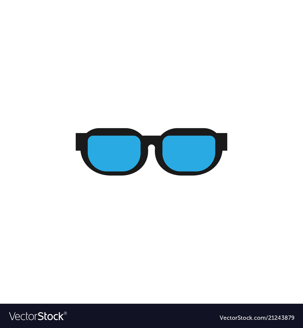 Eye sunglasses logo icon design template