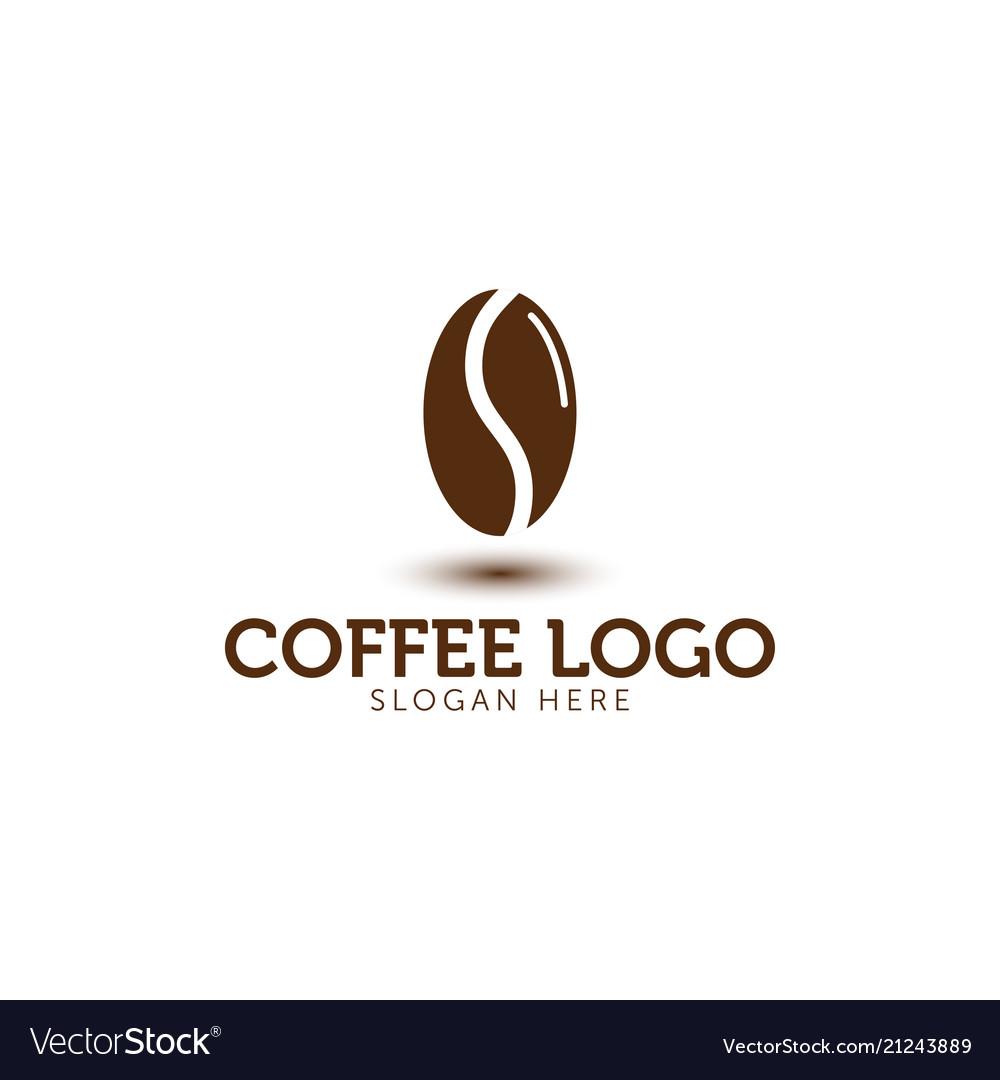 Coffee logo icon template