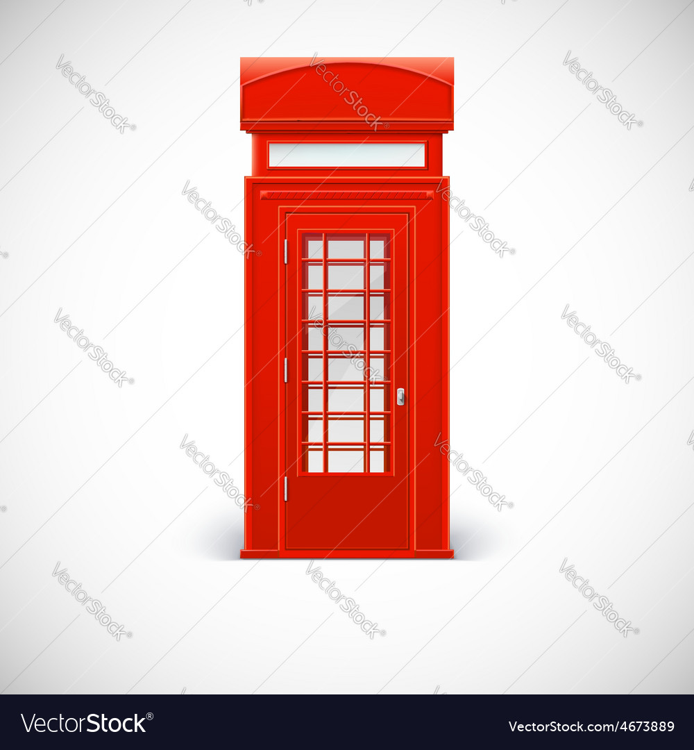 Telephone box Londone style