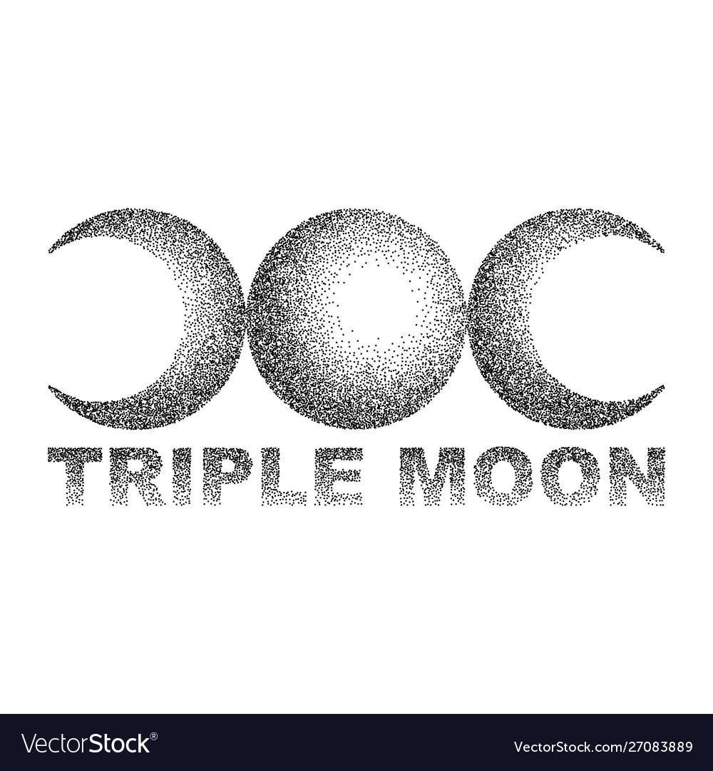 Triple moon magic and astronomy t-shirt
