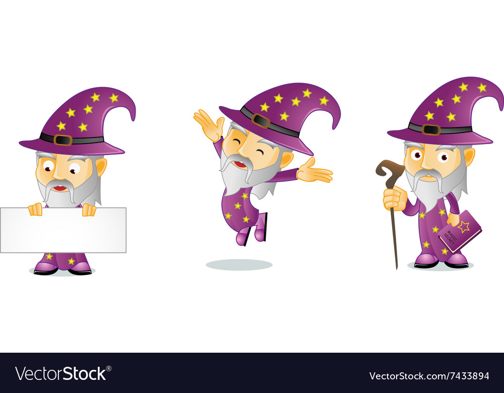 Wizard 1 vector image