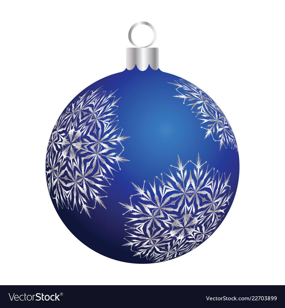 Christmas new year ball