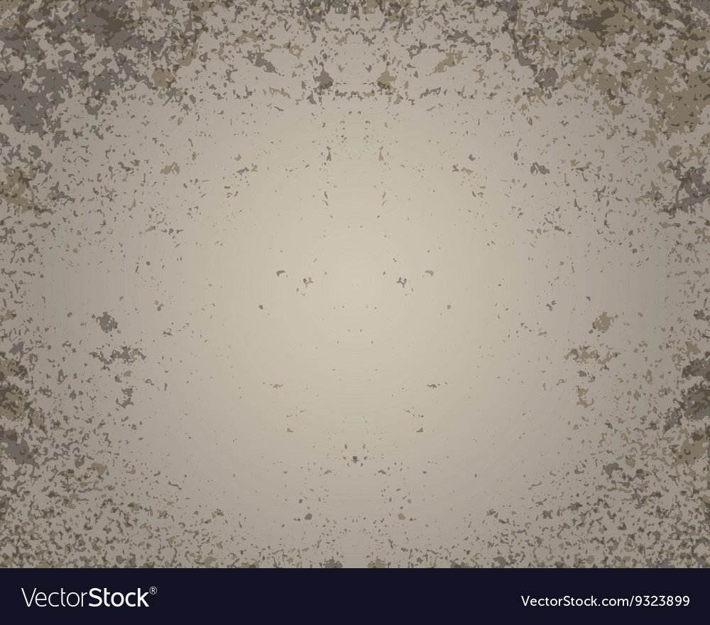 Grunge brown wall background vector image