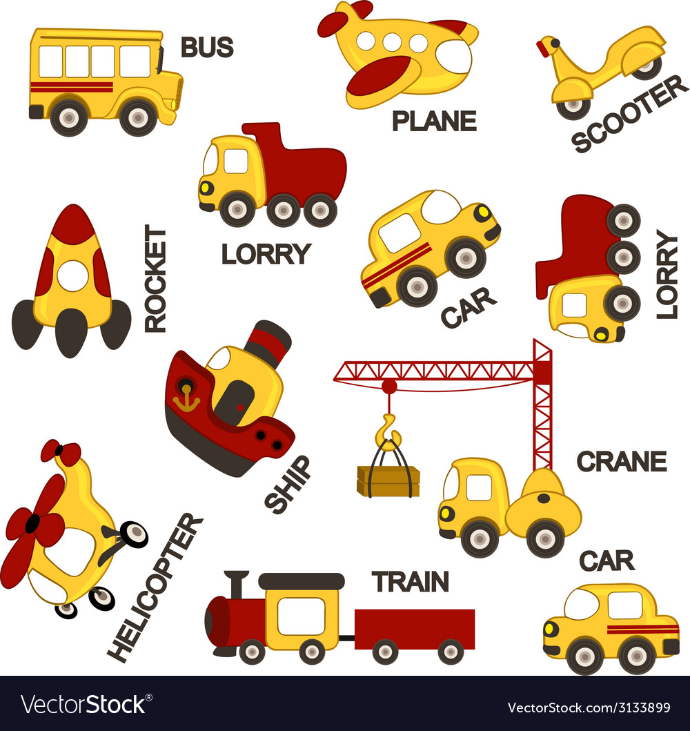 Pattern transport vector image