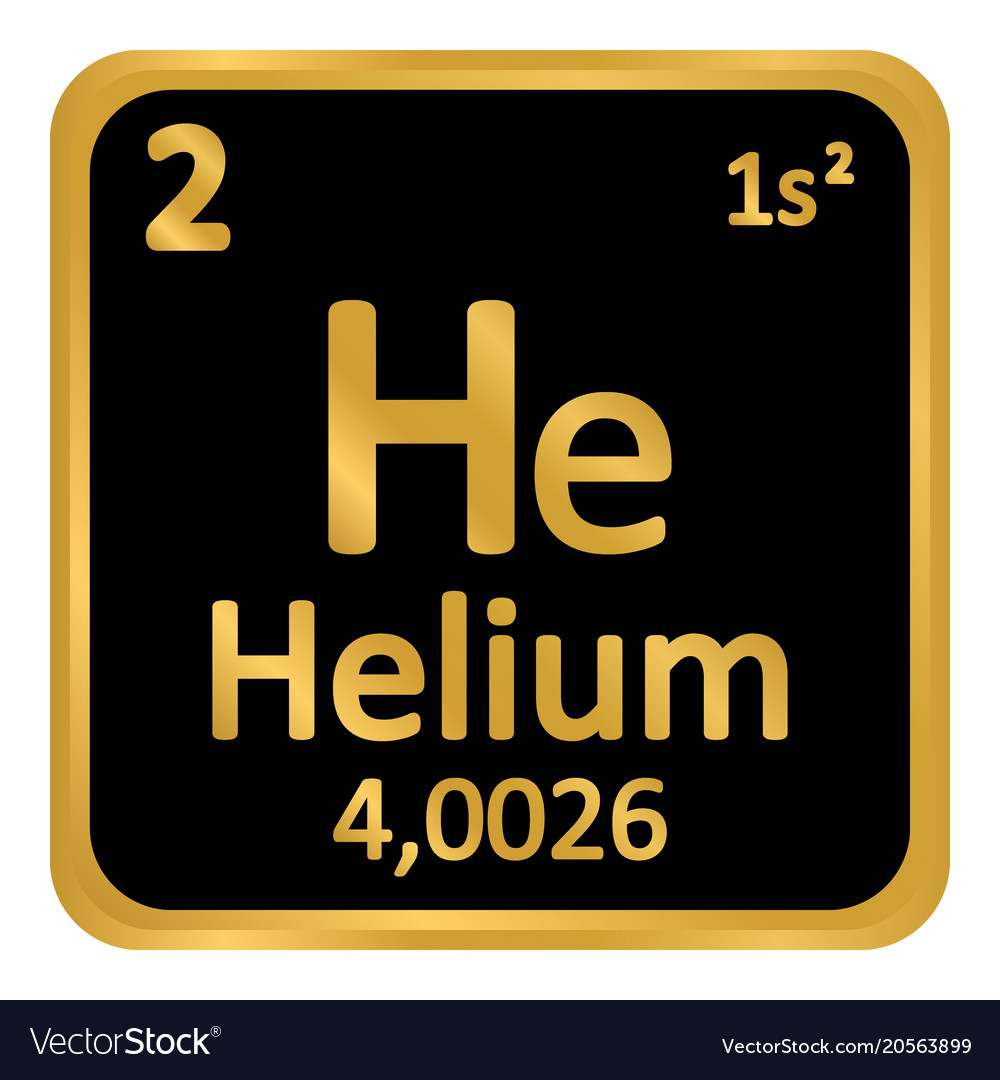 Periodic table element helium icon royalty free vector image periodic table element helium icon vector image urtaz Image collections
