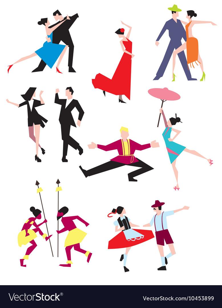 Traditional ethnic dances
