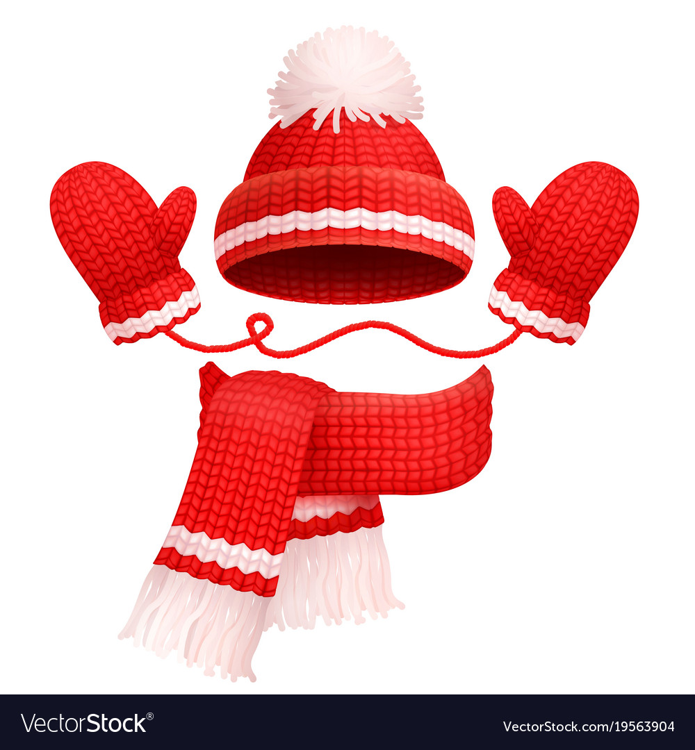 00b03125c Hat and scarf with mittens