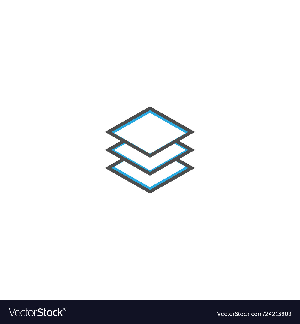 Layers icon design essential icon