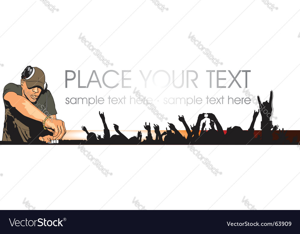 Youth party vector image