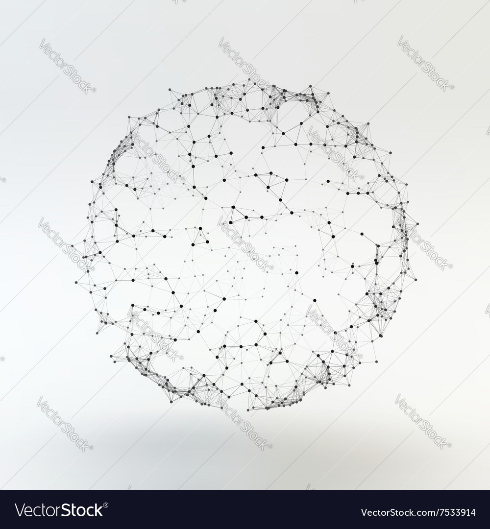 Connection Structure Wireframe