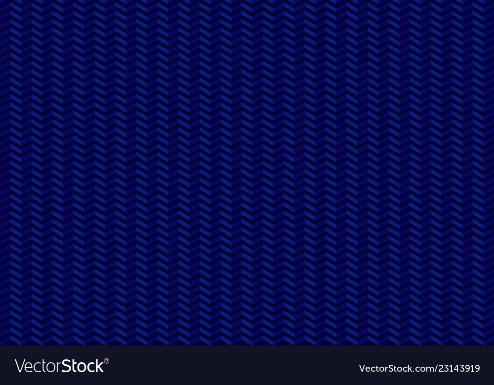 Arrows seamless pattern zig zag on blue background