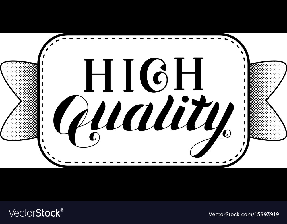 High quality logo isolated