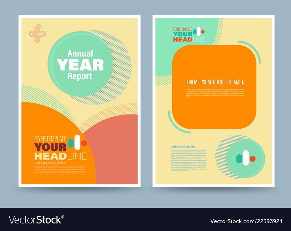 Colourful annual report