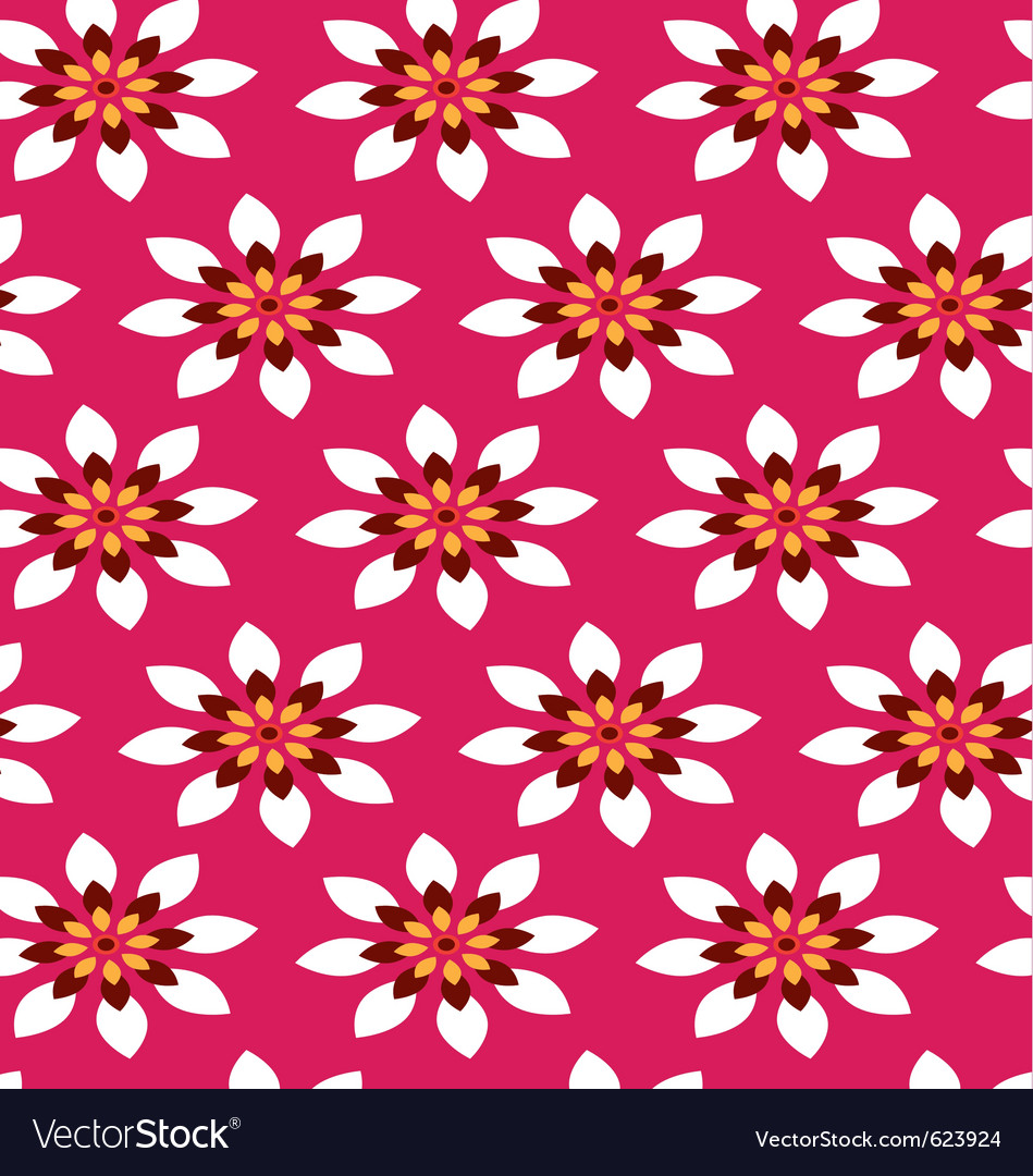 Flower wrapping paper royalty free vector image flower wrapping paper vector image mightylinksfo