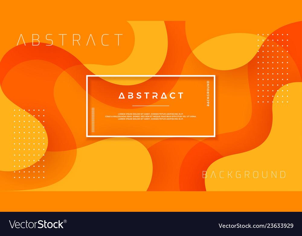 Dynamic textured orange background design
