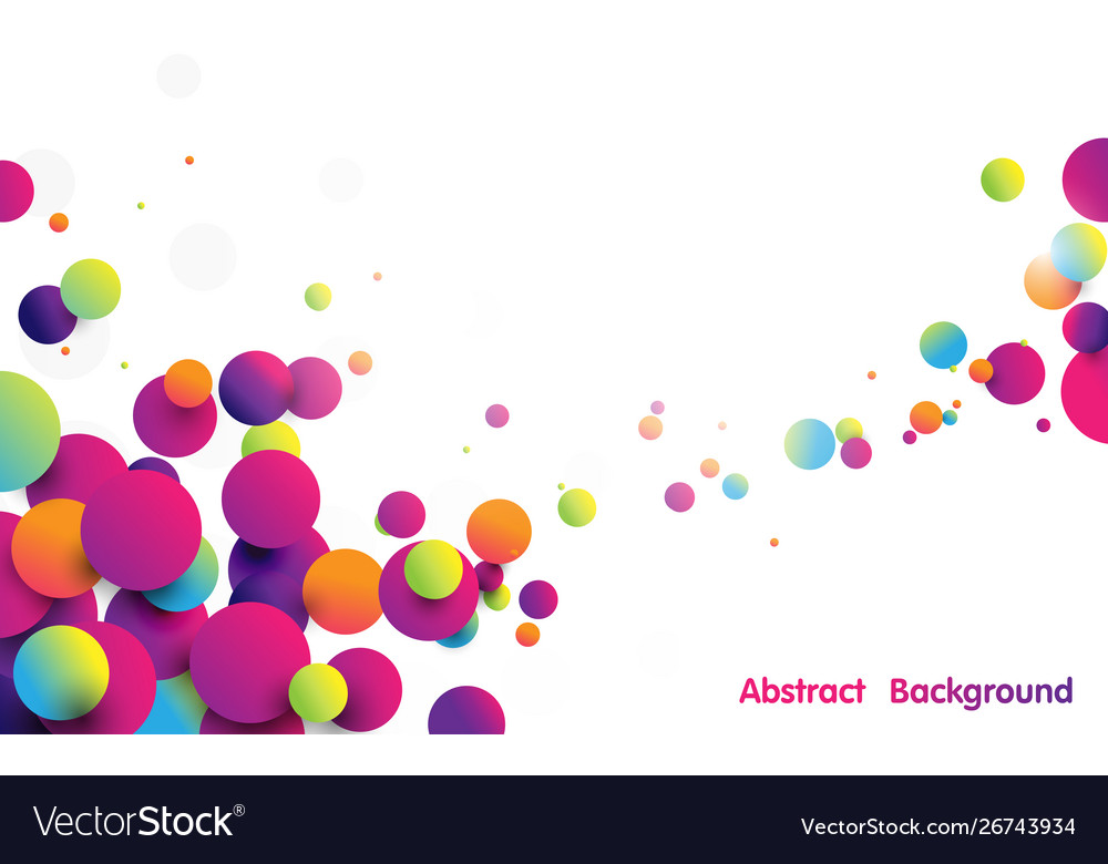 Abstract funny colorful striped balls background