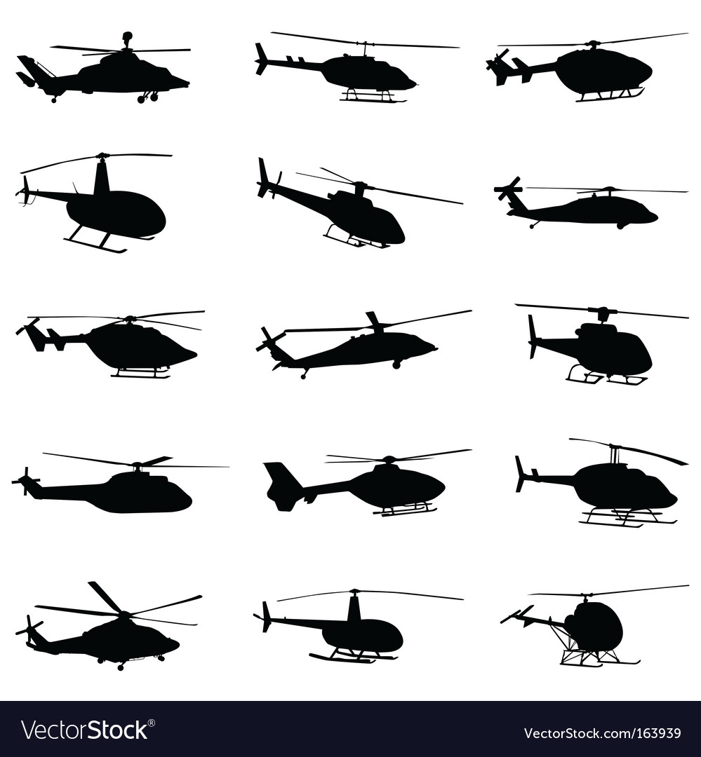 Helicopter set