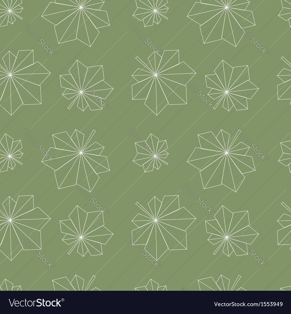Chestnut leaves pattern