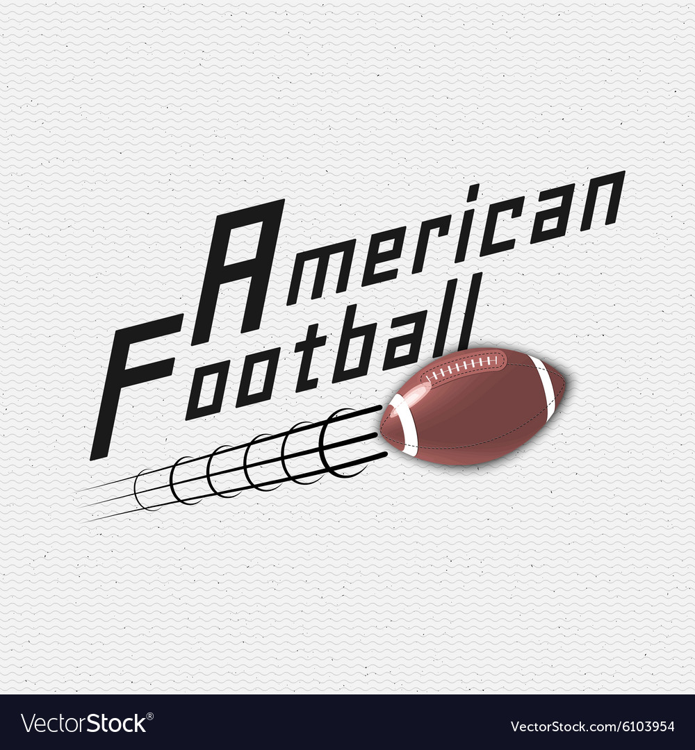 American Football badges logos and labels for any