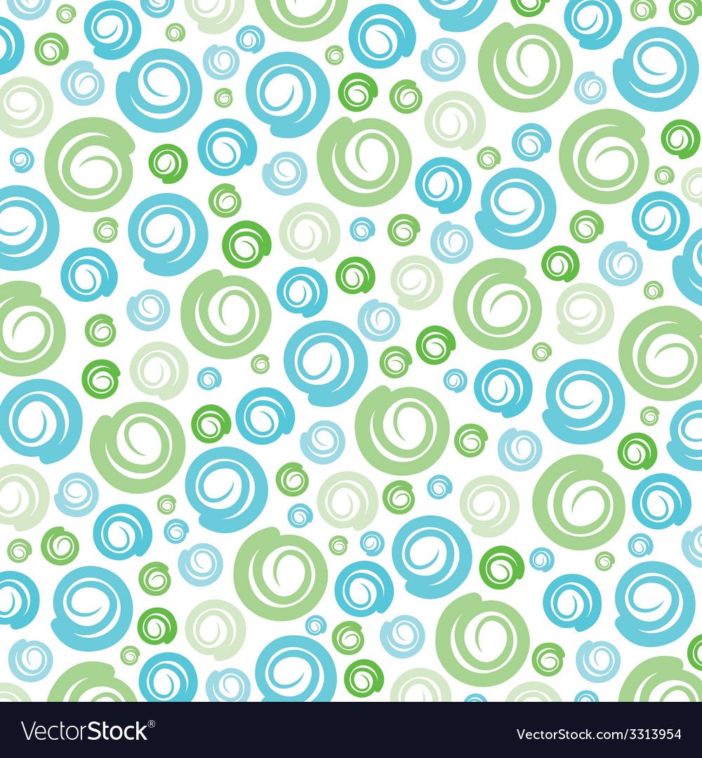 Green-Blue swirl pattern background