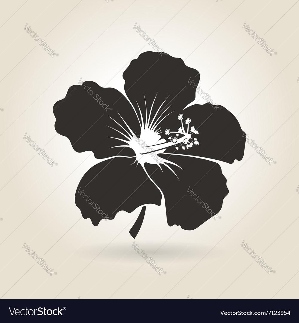 Icon Hibiscus Flower