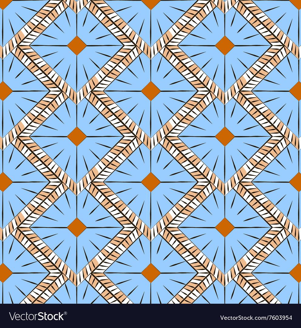 Romb geometric background pattern