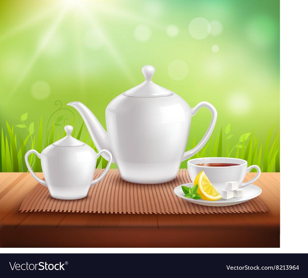 Elements Of Tea Service Composition